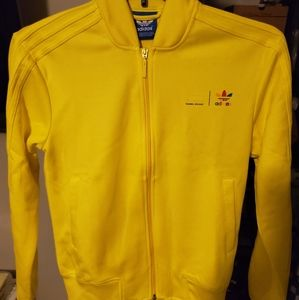 Adidas Pharrell Williams Yellow Track Jacket XS
